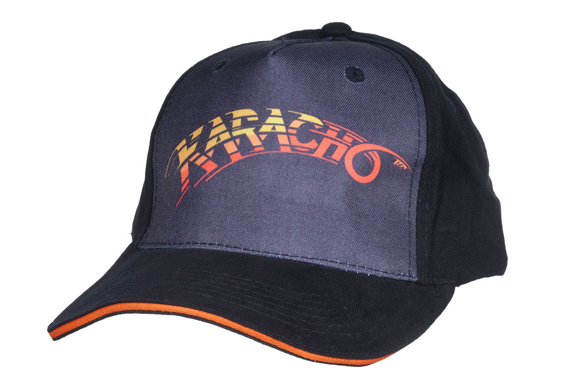 """Cap """"Karacho"""" schwarz"""