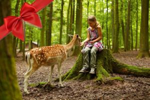 Gutschein für Wildparadies-Pass Kinder von 4 bis 11 Jahren
