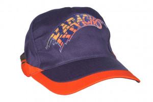 """Cap """"Karacho"""" blau/orange"""